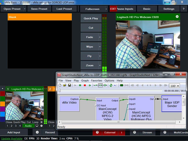Playing with C920 web camera via UDP to ODROID - BATC - Forum