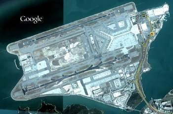 Google Earth HK Airport